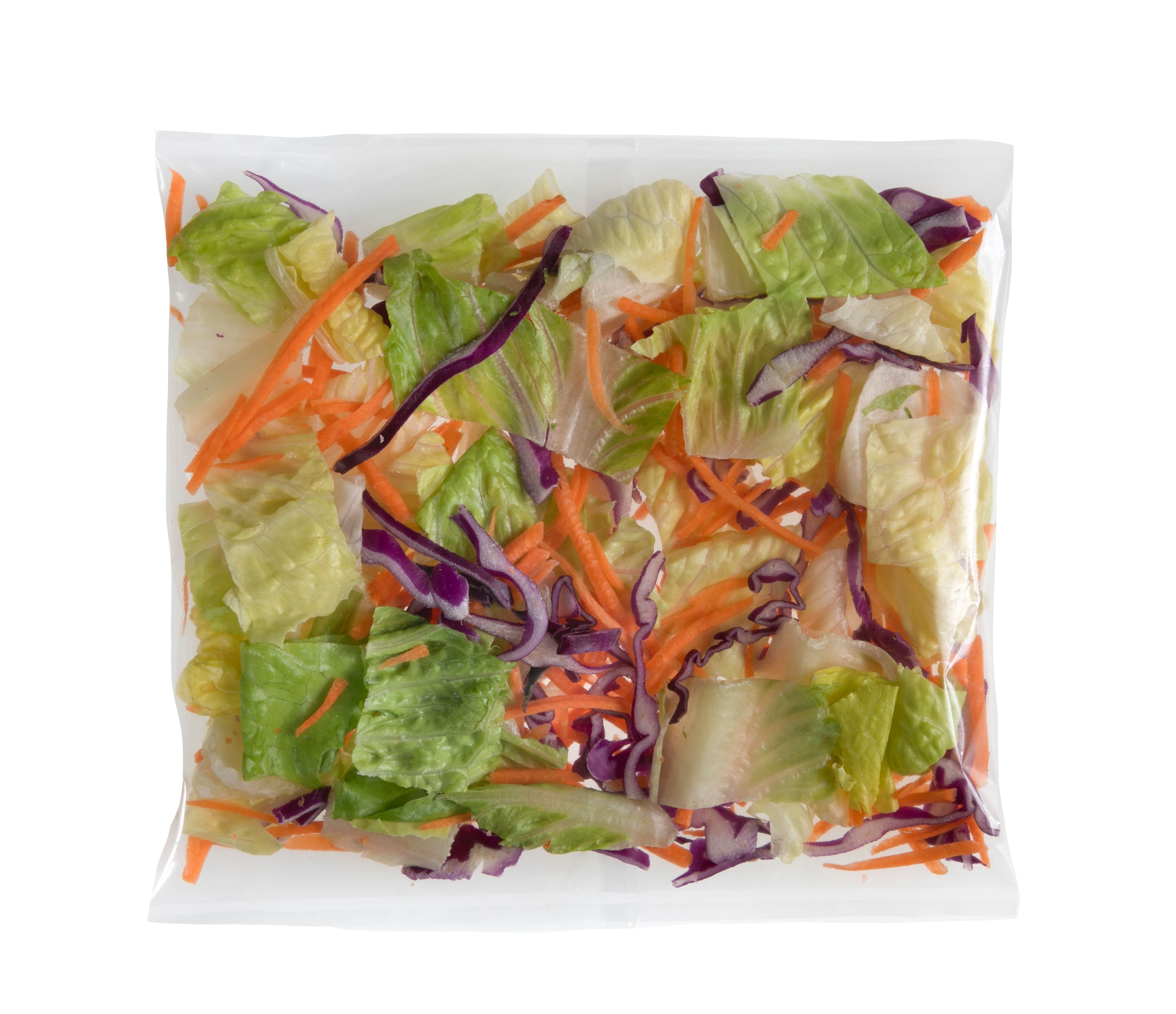 Romaine Salad (50 ct/cs, 2.6 oz bags, Monterey County, 8.126 lbs)