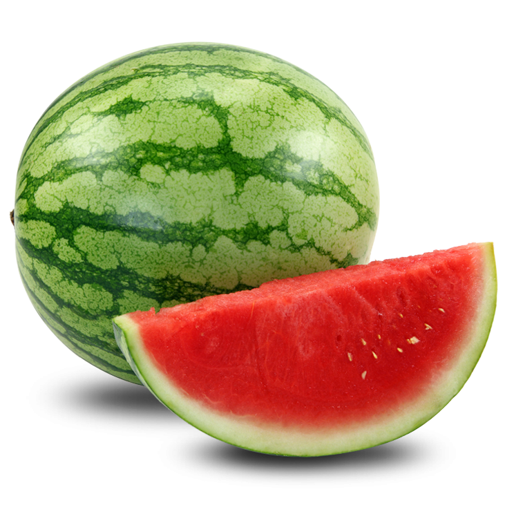 Watermelons, Seedless (Medium 13-17 lb, 5 ct/cs) San Joaquin