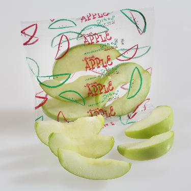 Apples, Sliced Green (1/2 cup / 2oz,100 ct/cs) San Joaquin