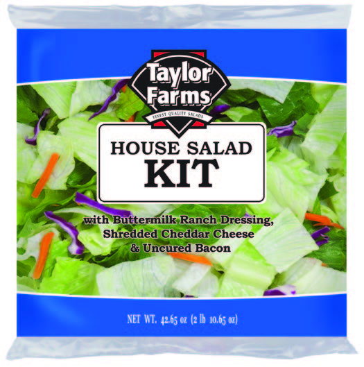 House Salad Kit [4 ct/cs, 42.65 oz, Monterey, 11.0 lb(s)]