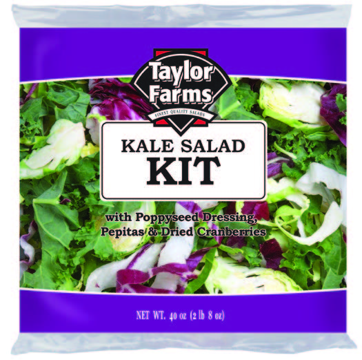 Kale Salad Kit [4 ct/cs, 40 oz, Monterey County, 10.0 lb(s)]