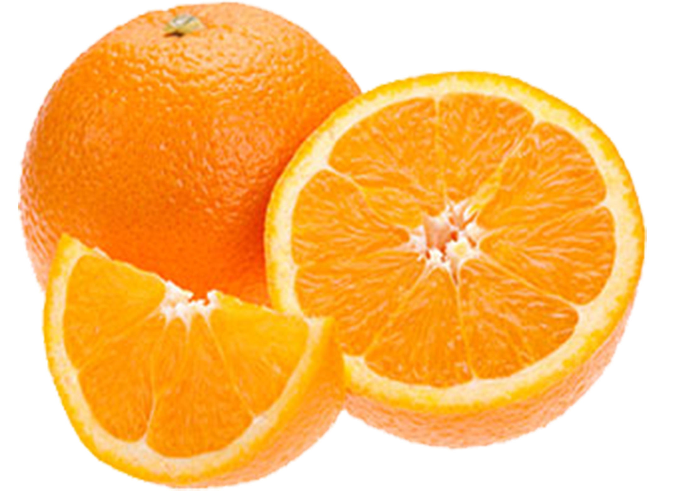 Oranges, Navel (138 ct/cs, 1/2 cup, Tulare County, 40 lbs)