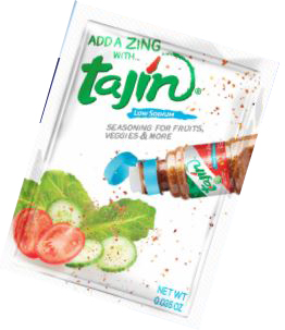 Tajin Seasoning (1000/packets 0.035 oz/cs, 4.5lb)