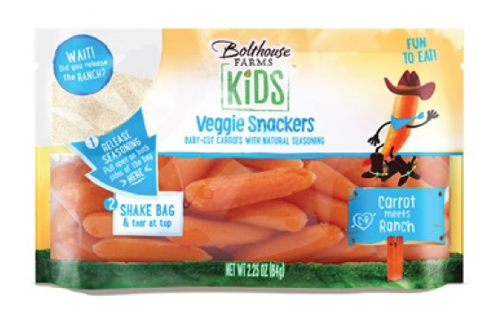 Carrots, Baby Ranch Flavored (2.5oz, 75 Ct/Cs) Kern