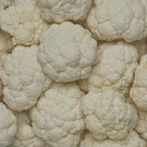 Cauliflower, Florets (4 ct/cs, 3 lb Bags, Monterey County, 12 lbs)